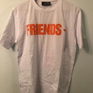 Vlone Friends White/Orange T-shirt